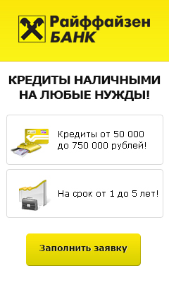 Райффайзенбанк - Кредит Наличными - Нижнекамск